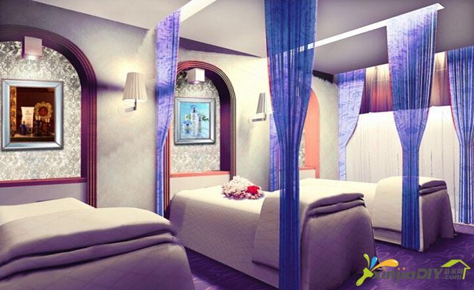 編號:977 - 60平米小美容院裝修圖 - 廣州美容院裝修設計公司內附效果