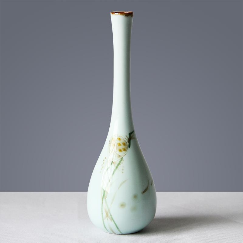 创意手绘小花瓶