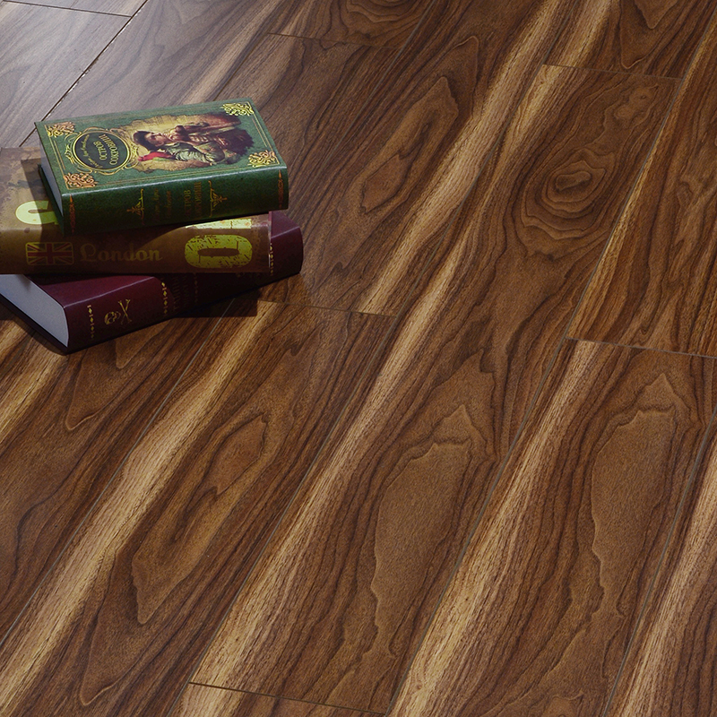 宏耐强化地板复合地板家用木地板双色胡桃木